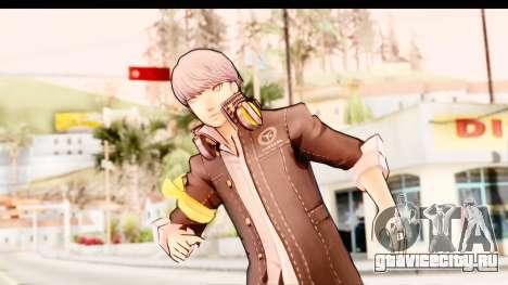 Persona 4: DAN - Yu Narukami Default Costume для GTA San Andreas