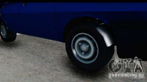 Dacia Liberta для GTA San Andreas вид сзади