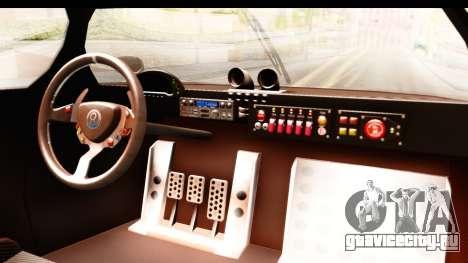 GTA 5 Annis RE-7B для GTA San Andreas вид изнутри