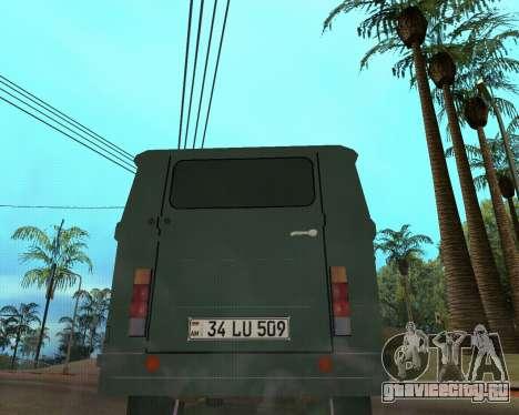 Eraz 762 Armenian для GTA San Andreas вид сзади слева