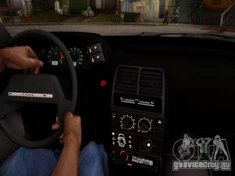 ВАЗ 2112 качественная GVR для GTA San Andreas вид сбоку