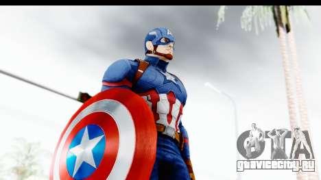 Marvel Heroes - Capitan America CW для GTA San Andreas