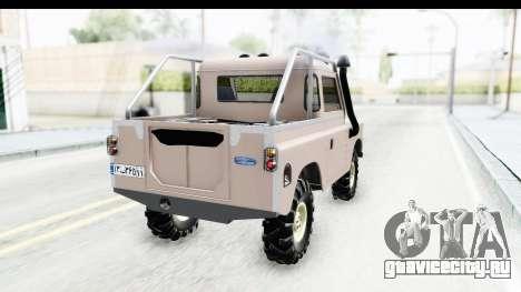 Land Rover Pickup Series3 для GTA San Andreas вид слева