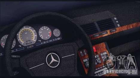 Mercedes-Benz W140 для GTA San Andreas вид сбоку