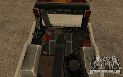 Новый эвакуатор для GTA San Andreas вид справа