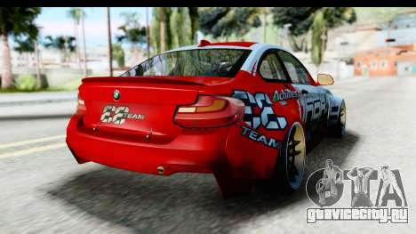 BMW M235i HGK для GTA San Andreas вид справа