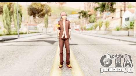 Persona 4: DAN - Yu Narukami Default Costume для GTA San Andreas второй скриншот