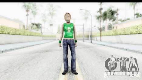 Silent Hill 3 - Heather Sporty Green Get A Life для GTA San Andreas второй скриншот