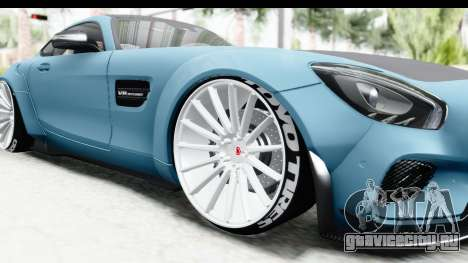 Mercedes-Benz AMG GT Prior Design для GTA San Andreas вид сзади
