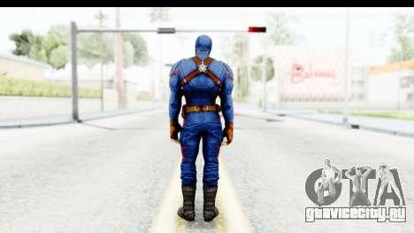 Marvel Heroes - Capitan America CW для GTA San Andreas третий скриншот