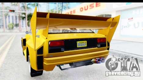 GTA 5 Obey Omnis IVF для GTA San Andreas салон