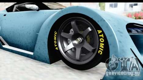 GTA 5 Emperor ETR1 v2 IVF для GTA San Andreas вид сзади