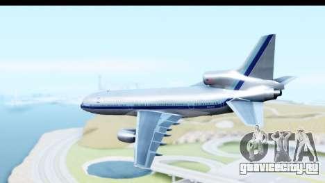 Lockheed L-1011-100 TriStar Eastern Airlines для GTA San Andreas вид слева