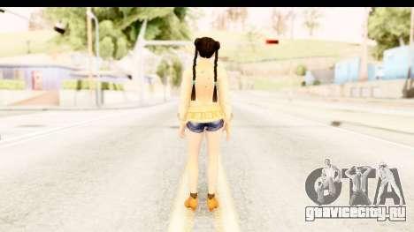 DoA 5 - Pai Chan Casual для GTA San Andreas третий скриншот
