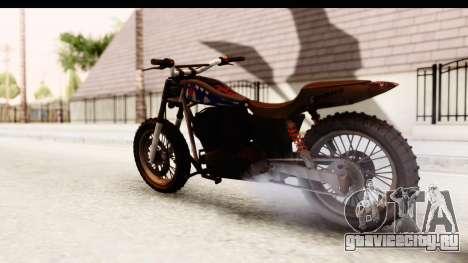 GTA 5 Western Cliffhanger Custom v2 IVF для GTA San Andreas вид слева