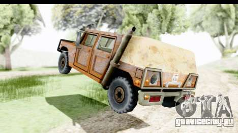 Rusted Patriot для GTA San Andreas вид сзади слева