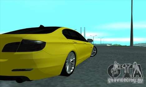 BMW 525 Gold для GTA San Andreas вид справа