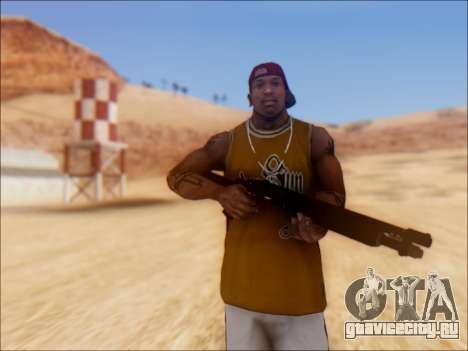 GTA V Shrewsbury Pump Shotgun для GTA San Andreas второй скриншот