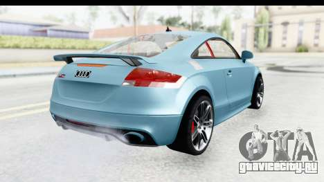 Audi TT RS для GTA San Andreas вид слева