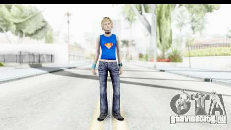 Silent Hill 3 - Heather Sporty Super Girl для GTA San Andreas второй скриншот