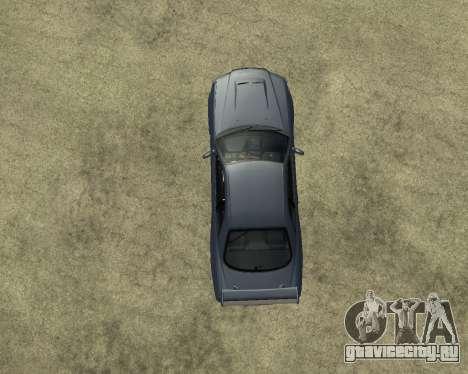 Nissan Skyline Armenia для GTA San Andreas вид изнутри