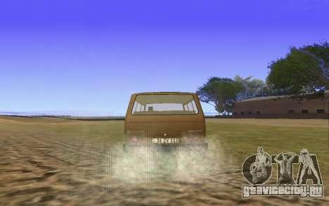 Volkswagen Transporter T-3 Armenian для GTA San Andreas вид сбоку