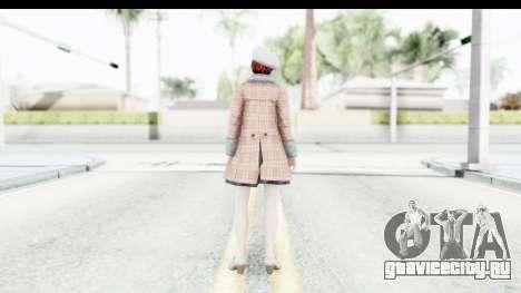 DoA 5 - Mila Casual для GTA San Andreas третий скриншот