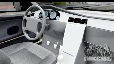 Ikco Samand Pickup v1 для GTA San Andreas вид изнутри