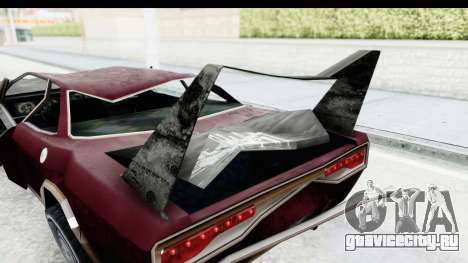 Tampa Daytona Kill для GTA San Andreas вид изнутри