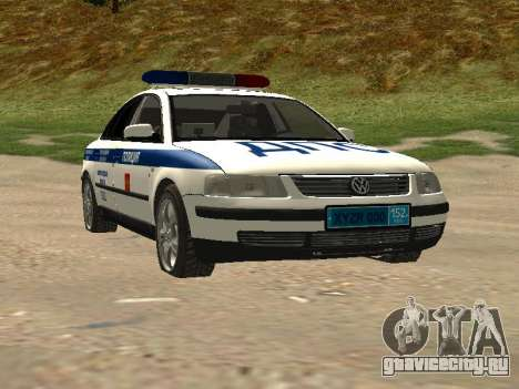 Volkswagen Passat ДПС для GTA San Andreas