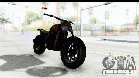 GTA 5 Western Gargoyle Custom v1 для GTA San Andreas вид сзади слева