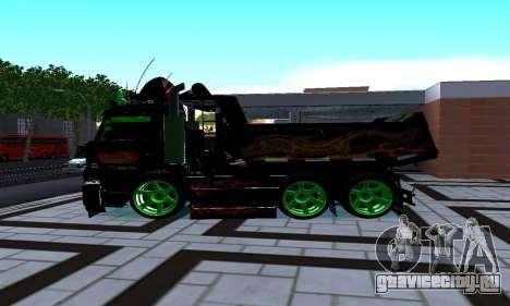 КаМАЗ 65115 для GTA San Andreas вид слева