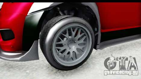 GTA 5 Grotti Brioso RA для GTA San Andreas вид сзади