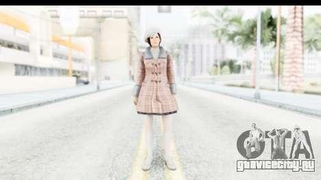 DoA 5 - Mila Casual для GTA San Andreas второй скриншот