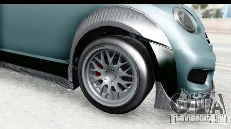GTA 5 Grotti Brioso RA IVF для GTA San Andreas вид сзади