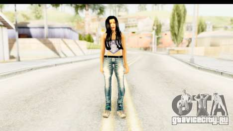 Gangsta Girl для GTA San Andreas второй скриншот