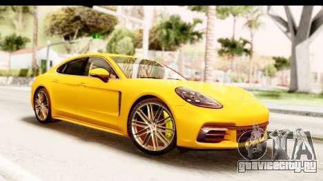 Porsche Panamera 4S 2017 v3 для GTA San Andreas