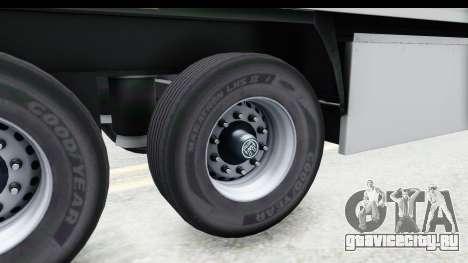 Trailer ETS2 v2 Old Skin 3 для GTA San Andreas вид сзади