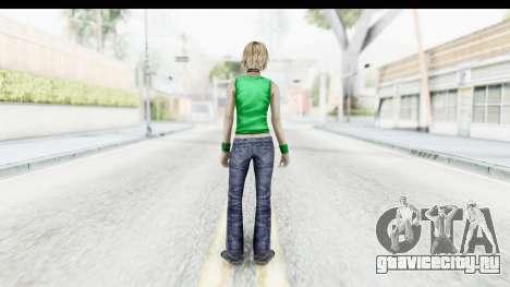 Silent Hill 3 - Heather Sporty Green Get A Life для GTA San Andreas третий скриншот