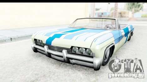 Blade New PJ для GTA San Andreas вид сзади