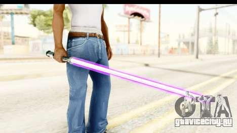 Sword Art Online II - Kiritos Saber для GTA San Andreas