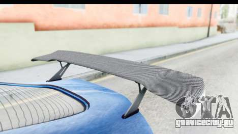 GTA 5 Dewbauchee Seven 70 для GTA San Andreas вид изнутри