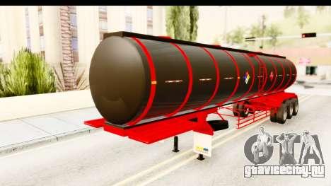 Trailer Fuel для GTA San Andreas вид справа
