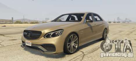 Mercedes-Benz E63 Brabus 850HP для GTA 5