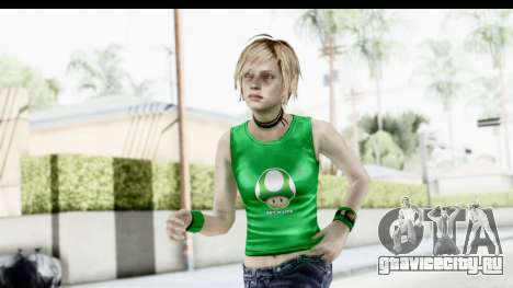 Silent Hill 3 - Heather Sporty Green Get A Life для GTA San Andreas