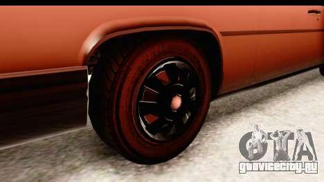 GTA 5 Albany Emperor SA Style для GTA San Andreas вид сзади