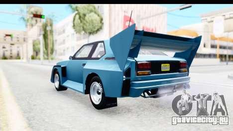 GTA 5 Obey Omnis для GTA San Andreas вид справа