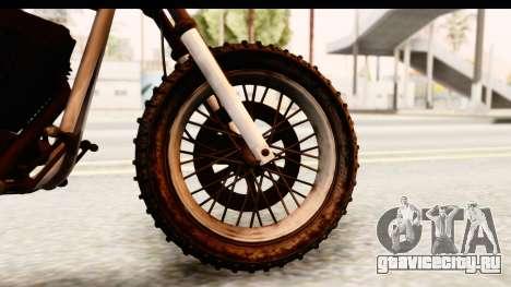 GTA 5 Western Cliffhanger Custom v2 IVF для GTA San Andreas вид сзади