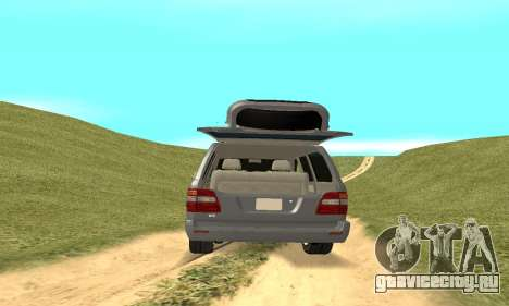 Toyota Land Cruiser 100 для GTA San Andreas вид изнутри