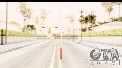 Bleach - Rukia Weapon для GTA San Andreas третий скриншот